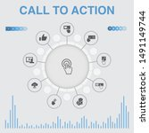 call to action infographic with ...