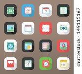 useful icon set | Shutterstock .eps vector #149115167
