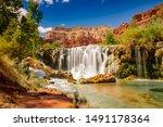 Grand Canyon Waterfall Inside...
