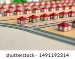 Homemade Houses With Red Roofs...