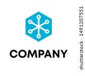 logo design template for... | Shutterstock .eps vector #1491207551