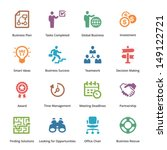 business icons set 3   colored... | Shutterstock .eps vector #149122721