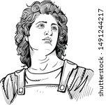 Alexander The Great Portrait I...