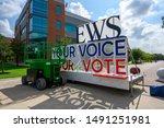 houston  texas   august 29 ...   Shutterstock . vector #1491251981