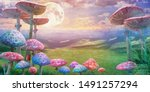 Fantastic Wonderland Landscape...