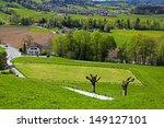 beautiful countryside landscape ...