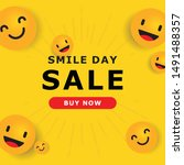 world smile day design template