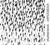 seamless pattern. black   white ... | Shutterstock .eps vector #1491528314