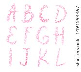 Watercolor Pink Calligraphic...