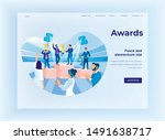 business and commercial success ... | Shutterstock .eps vector #1491638717