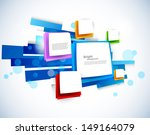 abstract colorful background | Shutterstock .eps vector #149164079