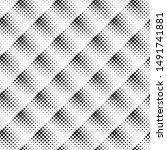 geometrical monochrome circle... | Shutterstock .eps vector #1491741881