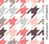 houndstooth seamless pattern | Shutterstock . vector #149186441