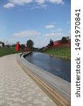 embankment in tula near the... | Shutterstock . vector #1491970841