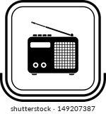 radio button black square | Shutterstock .eps vector #149207387