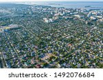 Aerial View From Drone. Aerial...