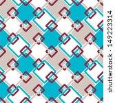 seamless geometric retro... | Shutterstock .eps vector #149223314