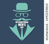 international men day or father ...   Shutterstock .eps vector #1492255814