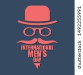 international men day or father ...   Shutterstock .eps vector #1492255991
