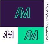 Logo Am  A  M  Ma Design...