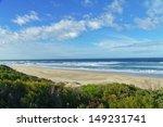 Beautiful Ocean Beach In South...
