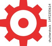 gear setting icon logo symbol