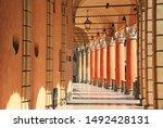 Typical Portico In Bologna ...
