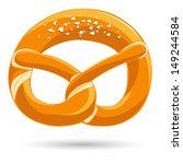 bavarian pretzel | Shutterstock .eps vector #149244584