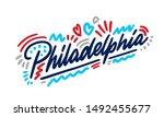 Philadelphia Handwritten City...