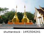 Twin Pagoda Wat Phra That Doi...
