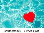 Heart Shape In Swimming Pool  ...