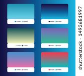ui gradient palate with color...
