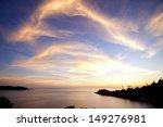 Sunset At Laempromthep Cape...