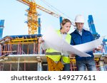 foreman and engineer with... | Shutterstock . vector #149277611