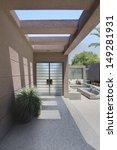 front entrance with veranda of...   Shutterstock . vector #149281931