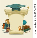 academic,academy,achievement,award,background,board,cap,cartoon,celebration,ceremony,certificate,college,concept,degree,diploma