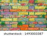Old Italian Brick Wall...