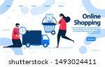 online shopping or e commerce...