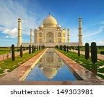 taj mahal in india  | Shutterstock . vector #149303981