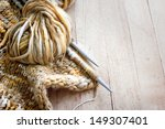 Vintage Knitting Needles And...