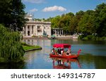 Lazienki Or Royal Baths Park In ...