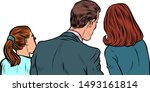 business people man and women... | Shutterstock .eps vector #1493161814