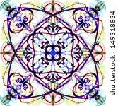 multicolor mandala background.... | Shutterstock . vector #149318834