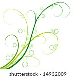 vector illustration   green... | Shutterstock .eps vector #14932009