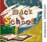 back to school vector... | Shutterstock .eps vector #149321267