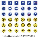 vector illustration of traffic... | Shutterstock .eps vector #149323895