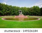 Chopin Monument In Lazienki Park