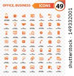 office and business concept... | Shutterstock .eps vector #149332001