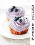 Blueberry Muffins Still Life...