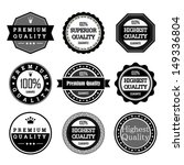 collection of premium quality... | Shutterstock .eps vector #149336804